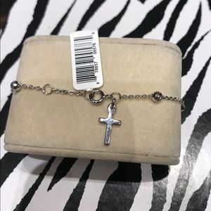 Jewelry - Silver Rosary Bracelet
